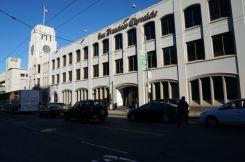 Kathedrales Auftreten: Das Redaktionsgebäude des San Francisco Chronicle