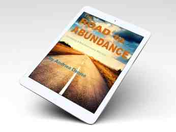 ebook advertisement for The Road to Abundance by Andriea Denise