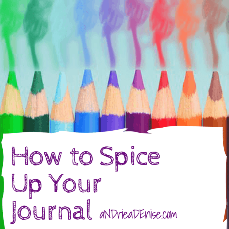 Spice Up Your Journal