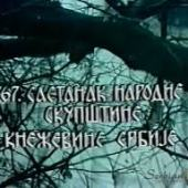 67. sastanak Skupstine Knezevine Srbije (1977) domaći film gledaj online
