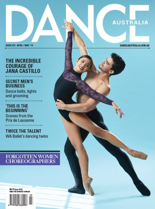 Dance Australia Cover, WA Ballet, Candice Adea and Julio Blanes