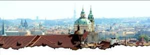 Прага вид сверху