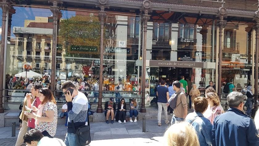 Рынок Сан Мигель,Мадрид,Испания