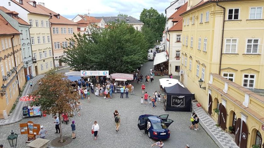 рыночек на Кампе Прага