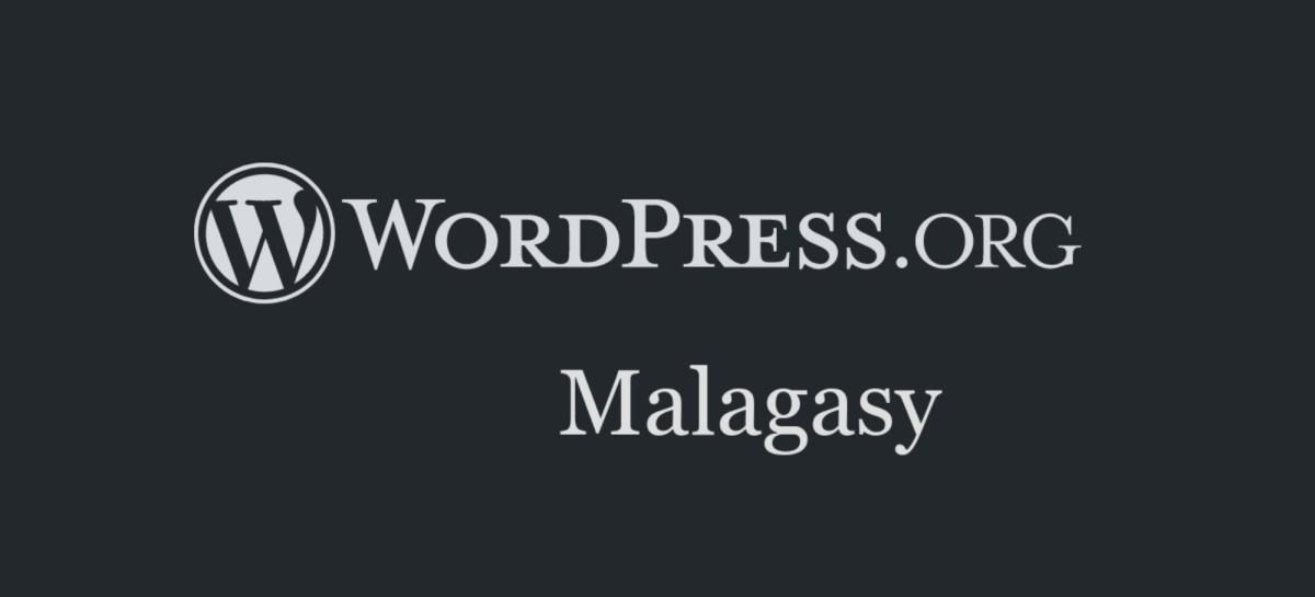 Header WordPress Malagasy