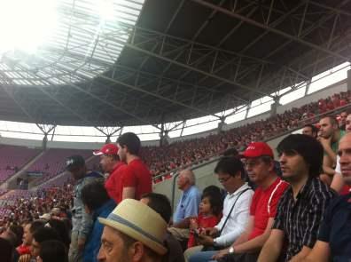 Die Schweizer Fans