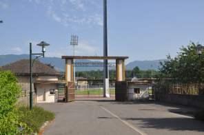 Der Haupteingang des alten Stadions