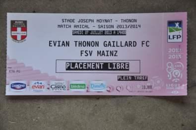 Die Eintrittskarte