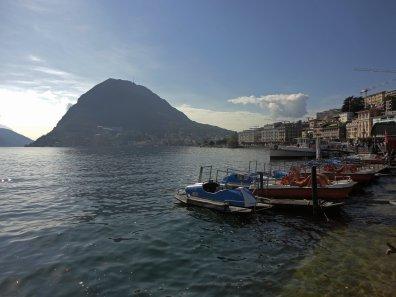 Pedalos im Lago di Lugano