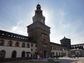 Das Castello Sforzesco in Milano