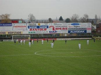 Blick auf das Spielfeld
