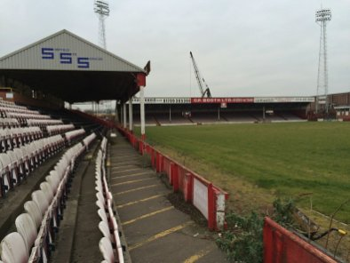 Millmoor in Rotherham