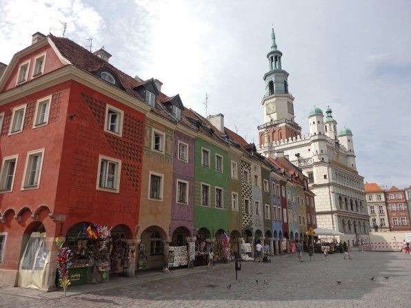 Wunderschöne Altstadt im polnischen Poznan