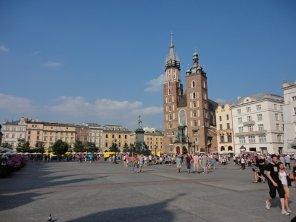 Innenstadt von Krakau