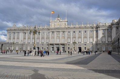 Der bekannte Palacio Real