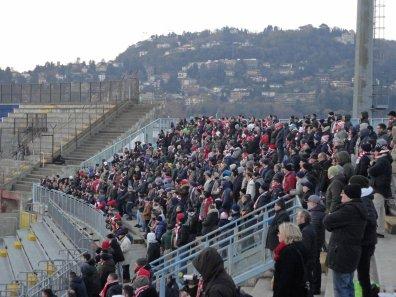 Eine stolze Zahl an mitgereisten Bari-Tifosi