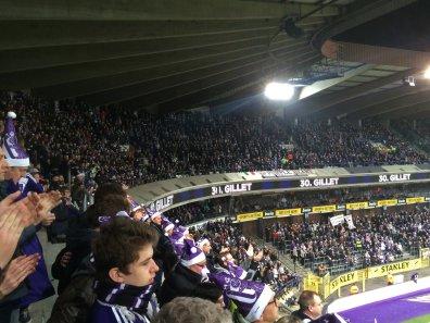 Die Fans des RSC Anderlecht
