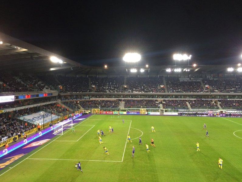 Blick in das Stadion von Anderlecht