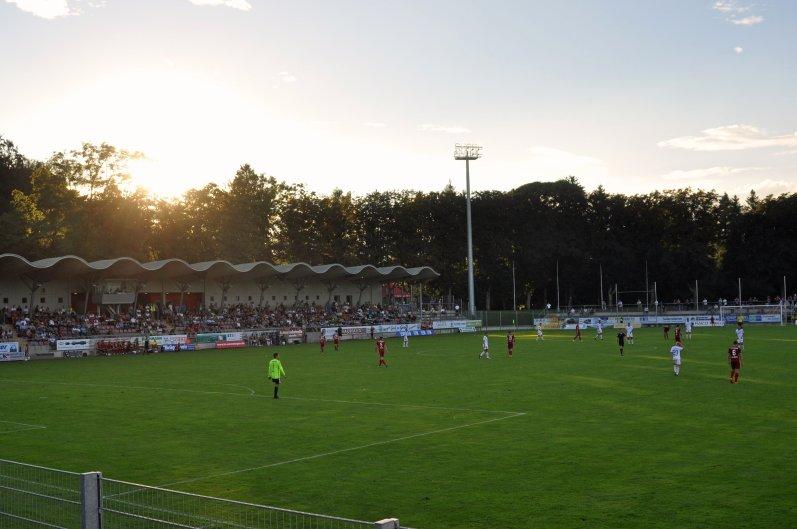 Die Heimstätte des Regionalligisten