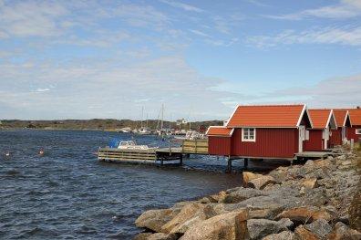 Die wunderschöne Küste in Götaland