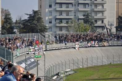 Die mitgereisten Fans aus Ascoli