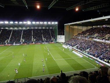 Das Spiel in der schottischen Hauptstadt spaltet die Fans