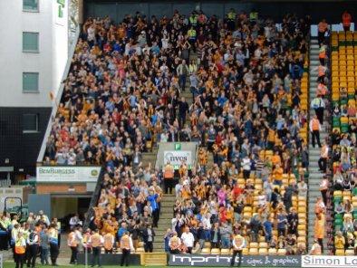 Hull-Fans bejubeln den überraschenden Führungstreffer