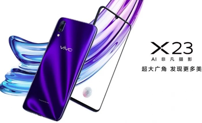 Картинки по запросу Vivo X23 новости и фото