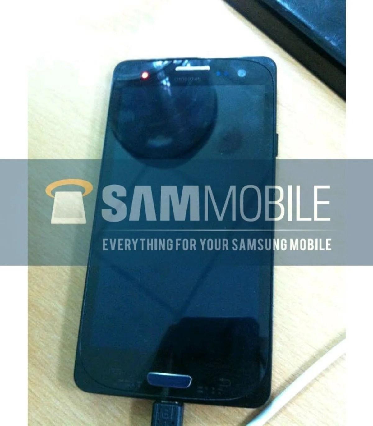 Imagen frontal del Samsung Galaxy SIII