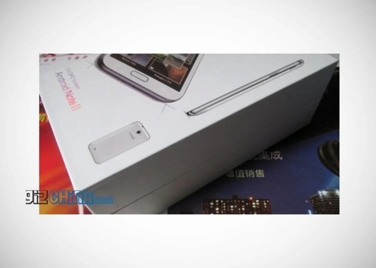 Copia barata del phablet de Samsung