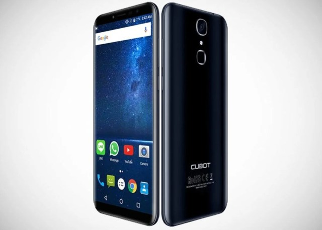 Cubot X18 Frontal