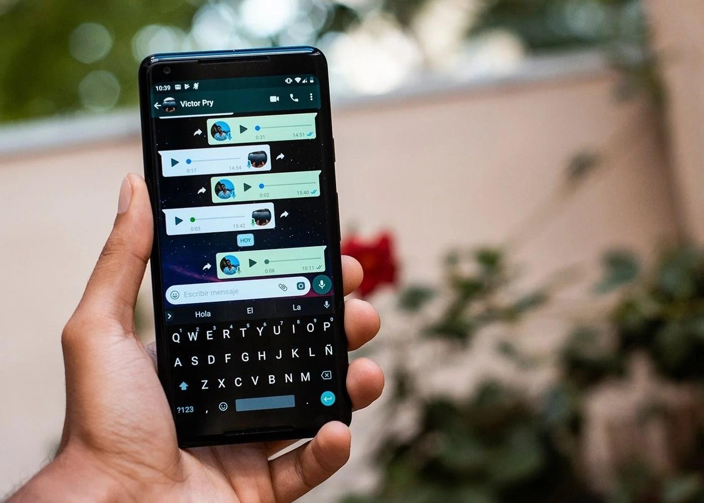 WhatsApp, aplicacion de mensajería instantánea