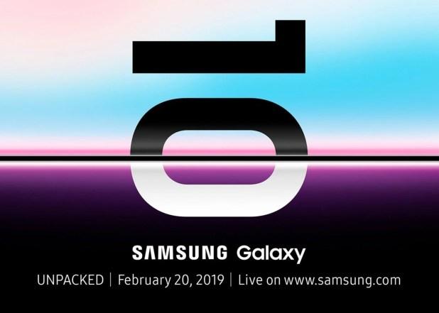 Samsung Galaxy S10, fecha de presentacion oficial
