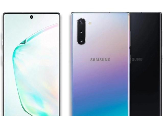 Samsung Galaxy Note 10, imagenes oficiales