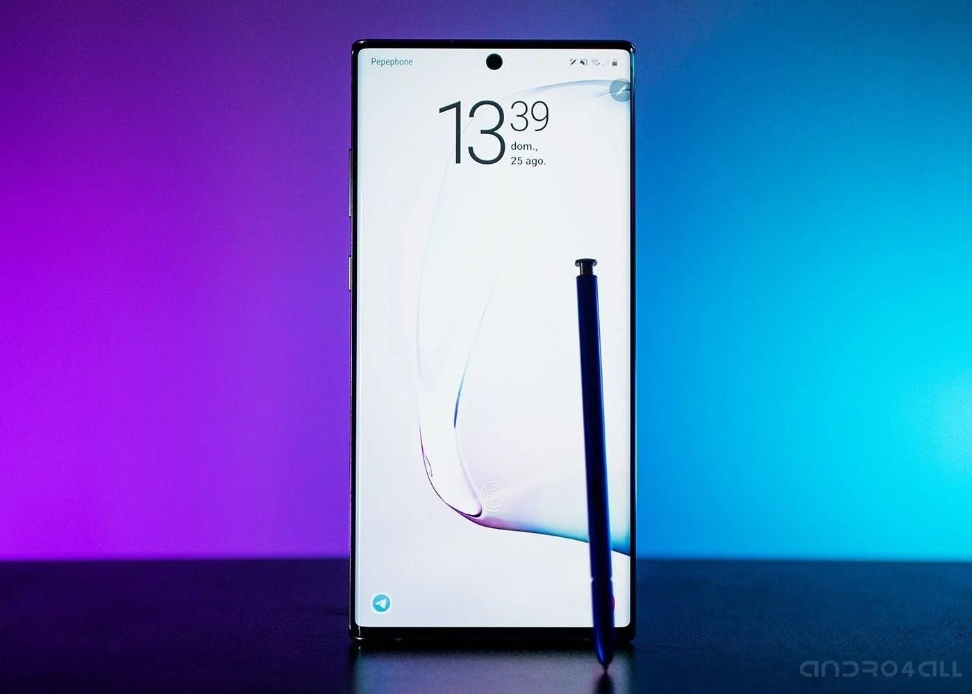 Samsung Galaxy Note10, pantalla de bloqueo y Spen