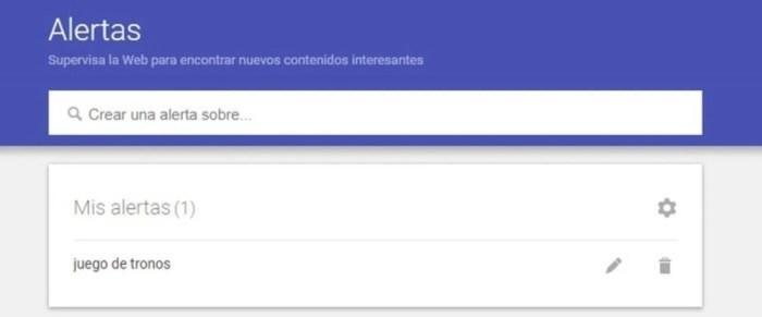 Alertas de noticias de Google 4