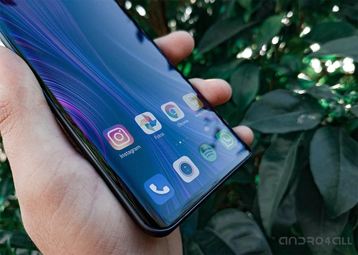 Xiaomi Mi Note 10 pantalla curva