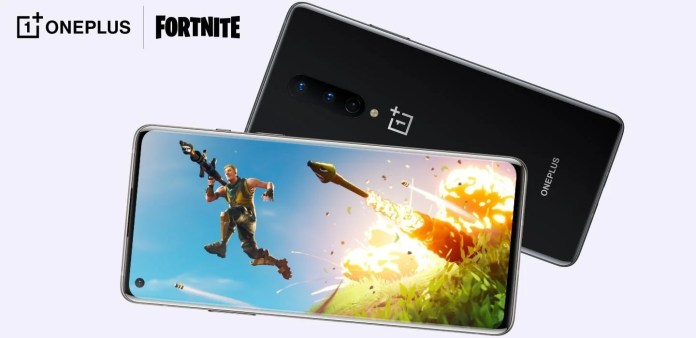 OnePlus announces the first experience of Fortnite to 90FPS in mobile