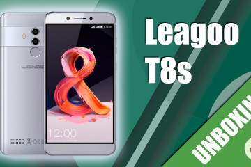 Unboxing Leagoo T8s