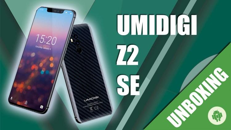 unboxing umidigi z2 se