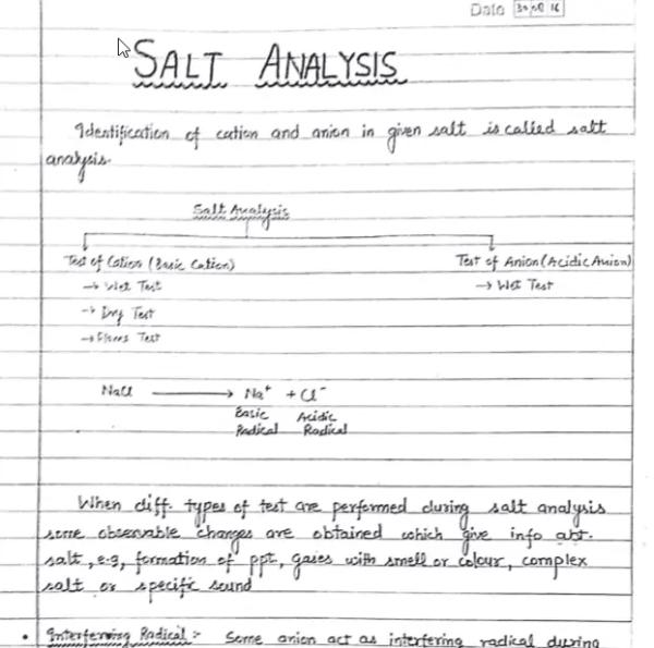 Allen Handwritten Notes Inorganic Chemistry 2