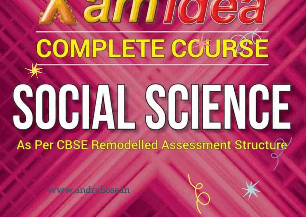 Xam Idea Class 10 Social Science Pdf