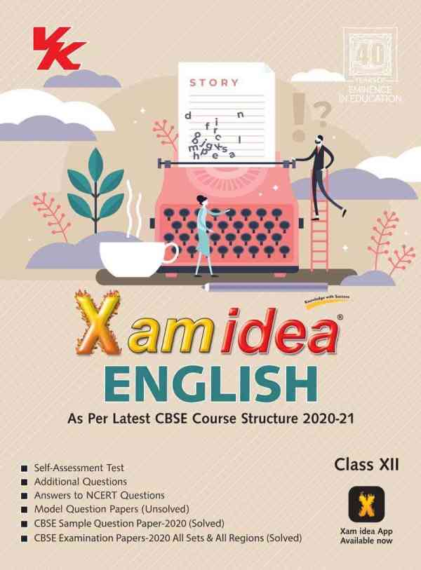 Xam Idea Class 12 English