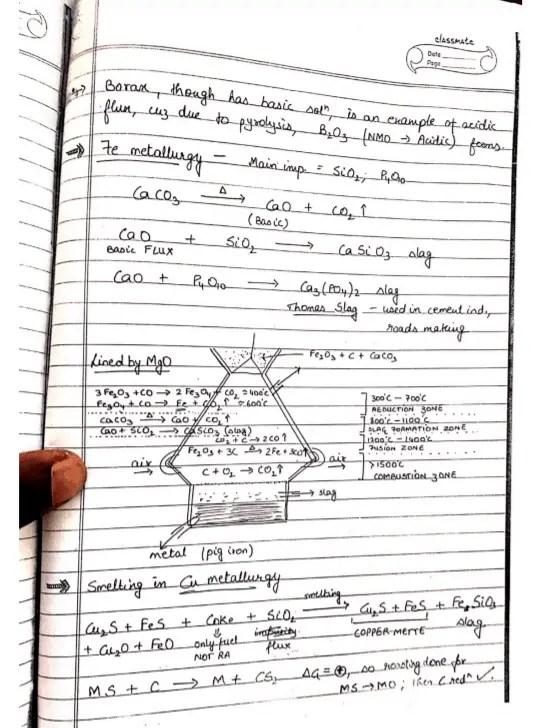 inorganic chemistry notes