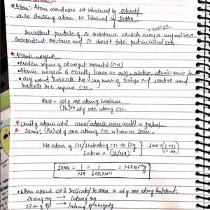 neet handwritten notes pdf