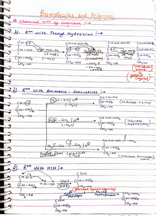 organic chemistry notes pdf free download