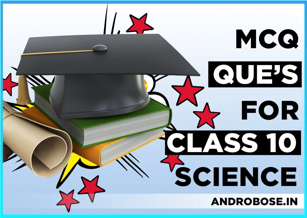 MCQ Questions For Class 10 Science