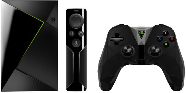 NVIDIA SHIELD TV   Streaming Media Player with Remote & Game Controller