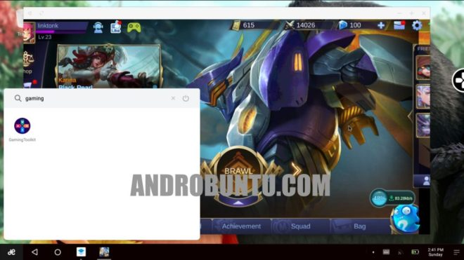 cara main mobile legends di pc/laptop menggunakan remix os