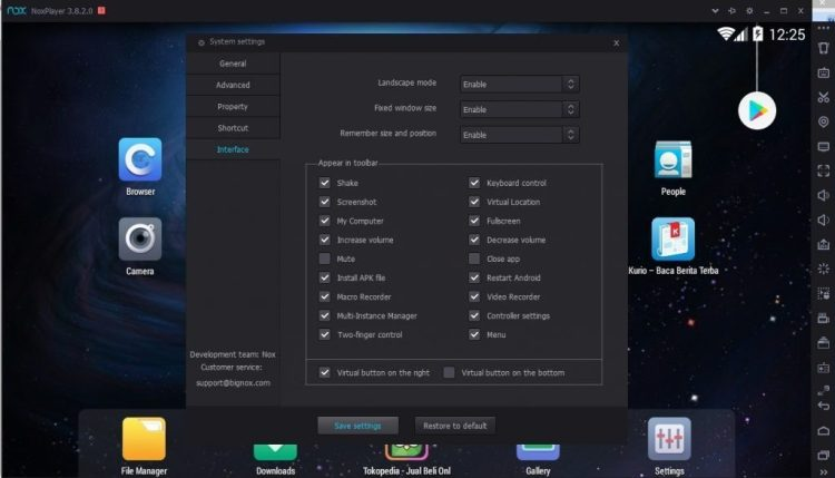 Cara installer NOx App Player di Komputer